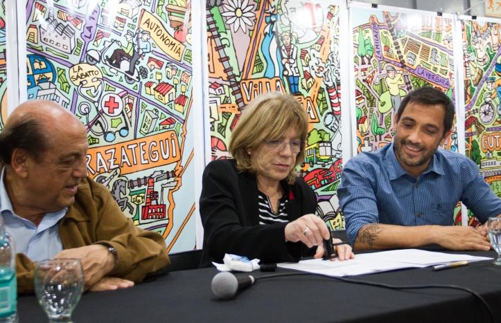 BERAZATEGUI Y LA UNIVERSIDAD DE LANÚS ESTRECHARON LAZOS A TRAVÉS DE UN CONVENIO (3)