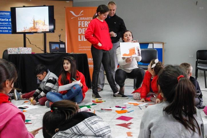 LOS NIÑOS Y DOCENTES TENDRÁN SU PROPIO ESPACIO EN LIBRARTE (2)
