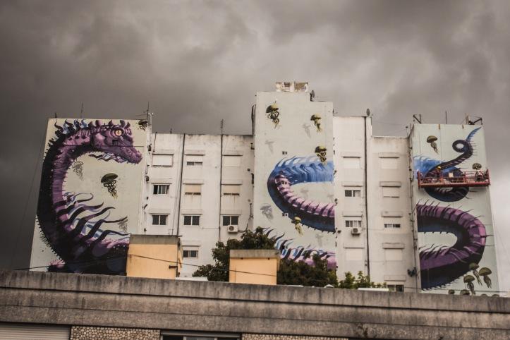 Muro urbano 3