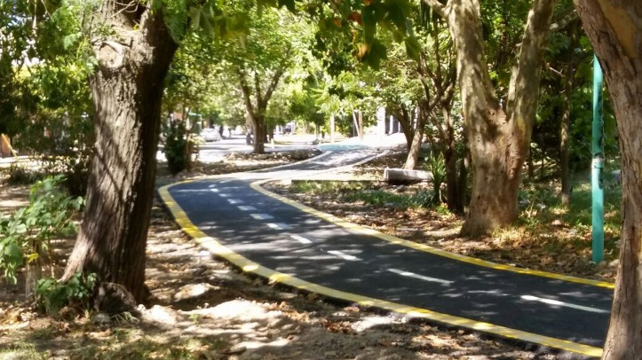 ciclovía villa españa