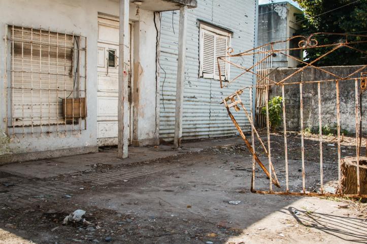 Operativo de limpieza barrio alberdi