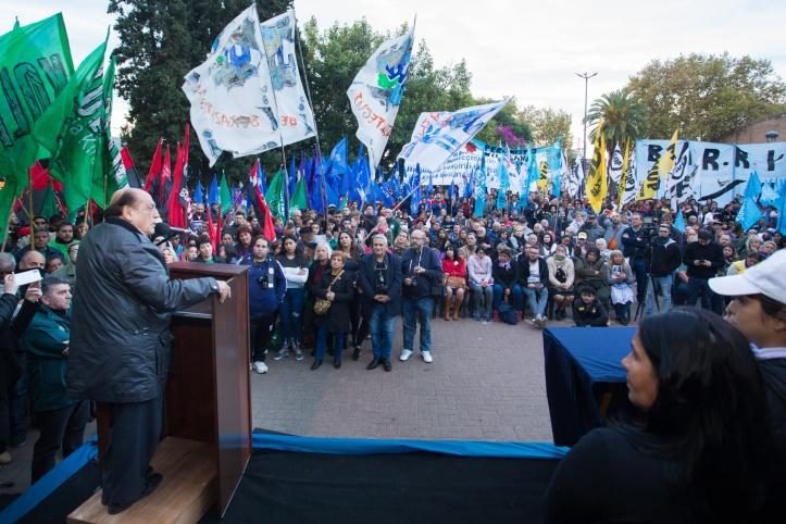 BERAZATEGUI CONMEMORÓ EL 100° ANIVERSARIO DEL NACIMIENTO DE EVITA (2)